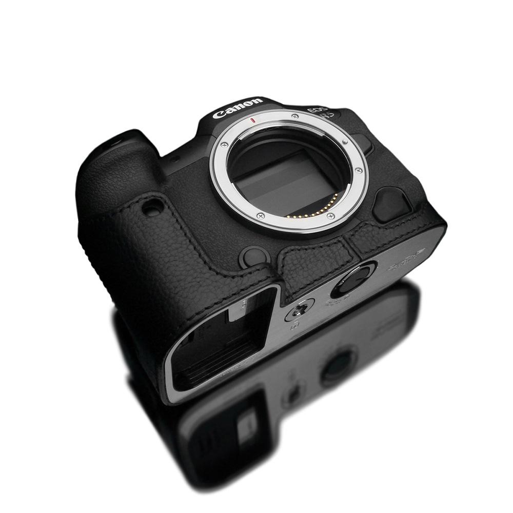 GARIZ Canon EOS R5/R6 兼用 本革カメラケース XS-CHEOSR5BK ブラック