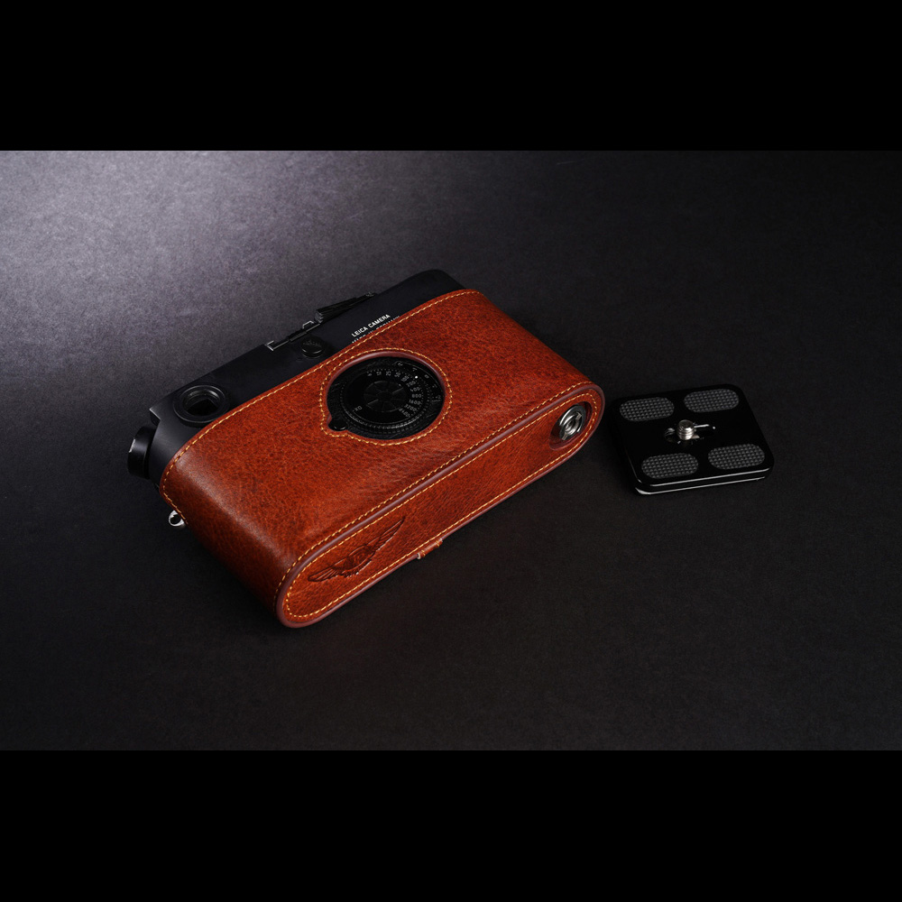 TP Original Leica M7 用 ボディーハーフケース ブラウン