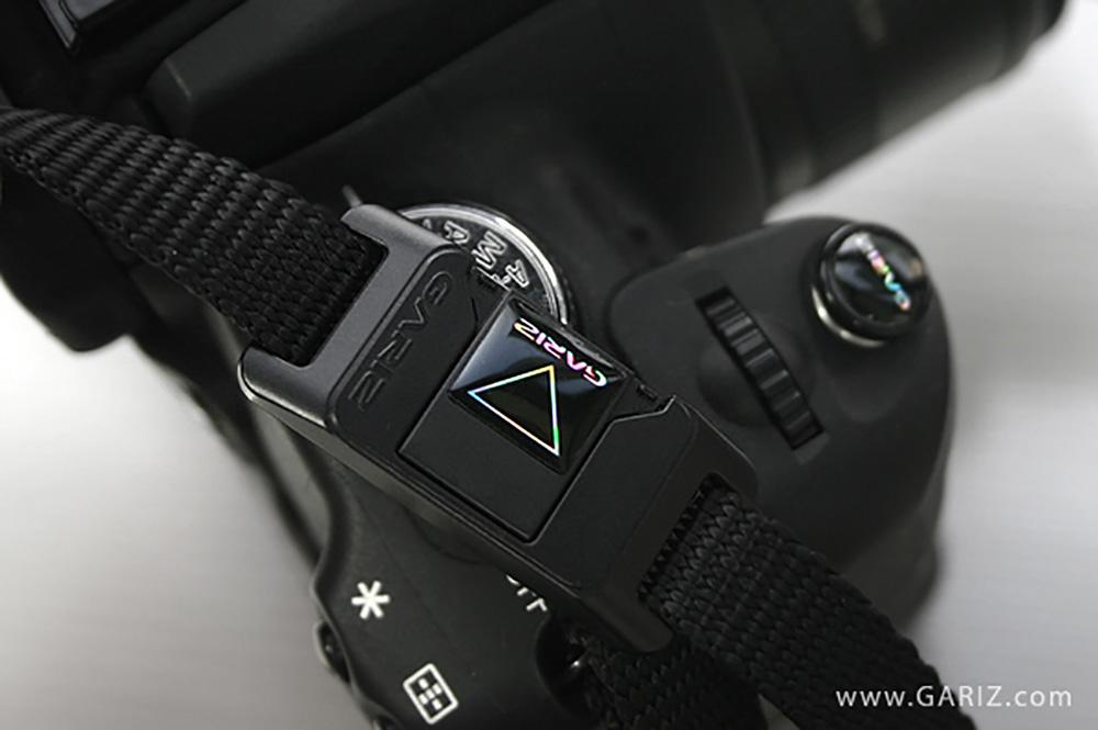 GARIZ ホットシューカバー ソフトボタン(シール式レリーズボタン)セット XA-SP1 ブラック