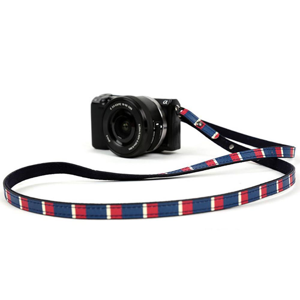 paul frank/ポールフランク ミラーレスカメラ/コンパクトデジカメ用 ネックストラップ 13PF-SN17 Navy Stripe ネイビー ストライプ