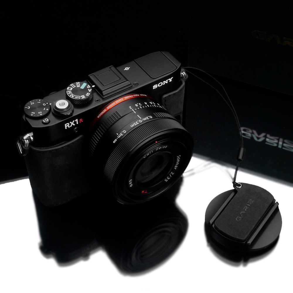 GARIZ SONY RX1/RX1R用 レンズキャップフィックス AT-CFRX1CG チャコールグレー
