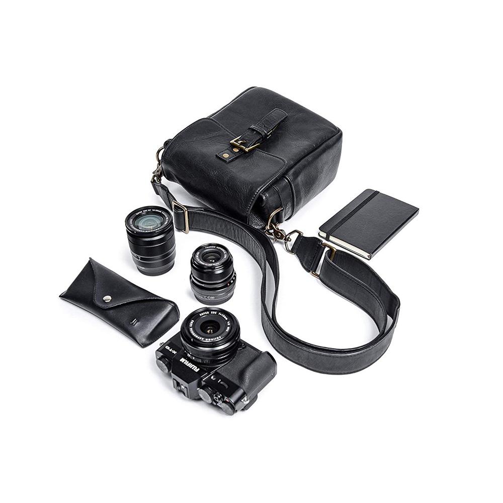 ONA カメラバッグ THE LEATHER BOND STREET (Black) ONA5-064LBLJP