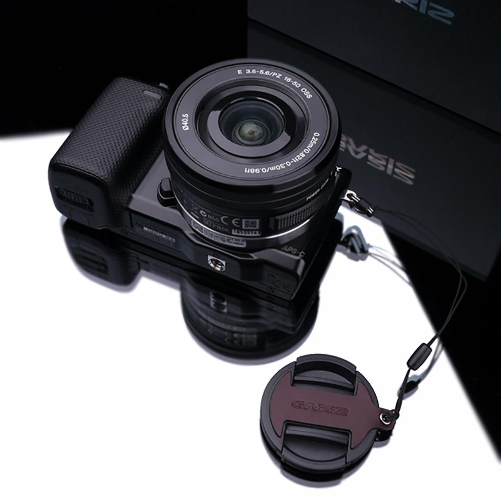 GARIZ SONY 16-50mm用 レンズキャップフィックス XA-CF1650BR ブラウン
