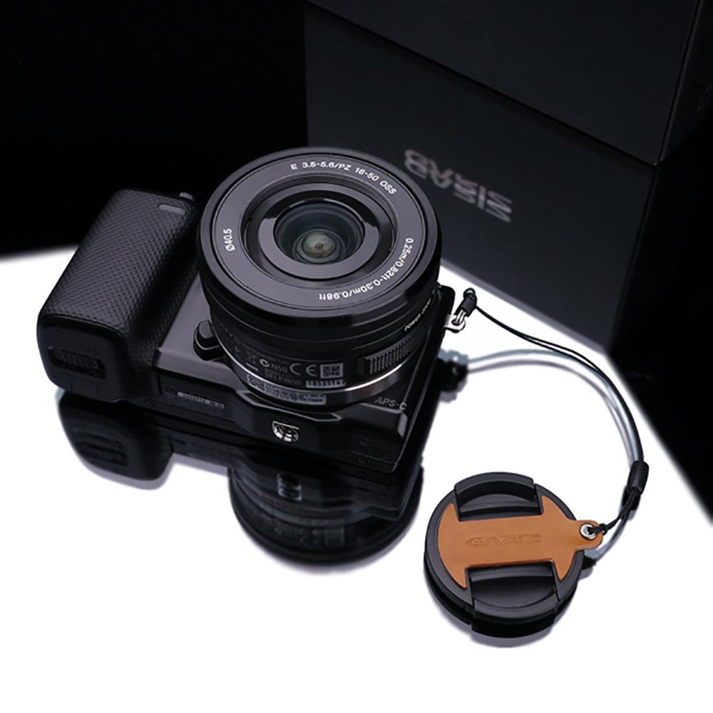 GARIZ SONY 16-50mm用 レンズキャップフィックス XA-CF1650LB ライトブラウン