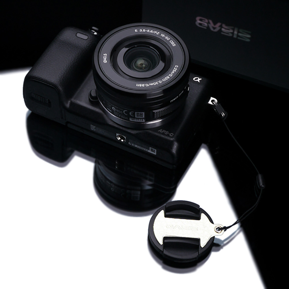 GARIZ SONY 16-50mm用 レンズキャップフィックス XA-CF1650W ホワイト