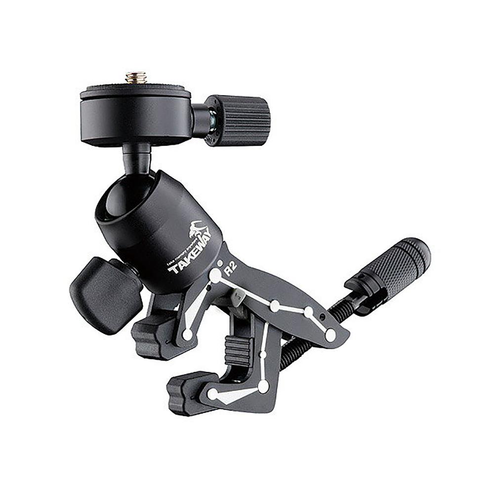 TAKEWAY(テイクウェイ) R2 カメラクランプ スマホ&アクションカメラホルダーセット