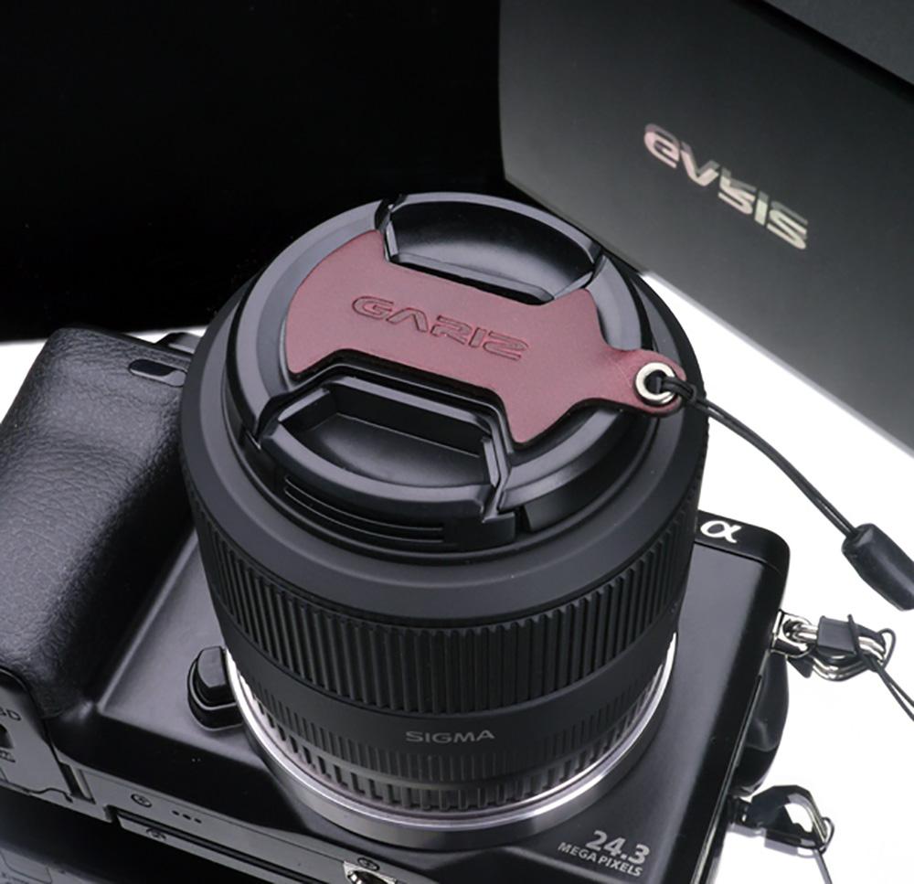 GARIZ SIGMA 46mm用 レンズキャップフィックス XA-CFSMBR ブラウン