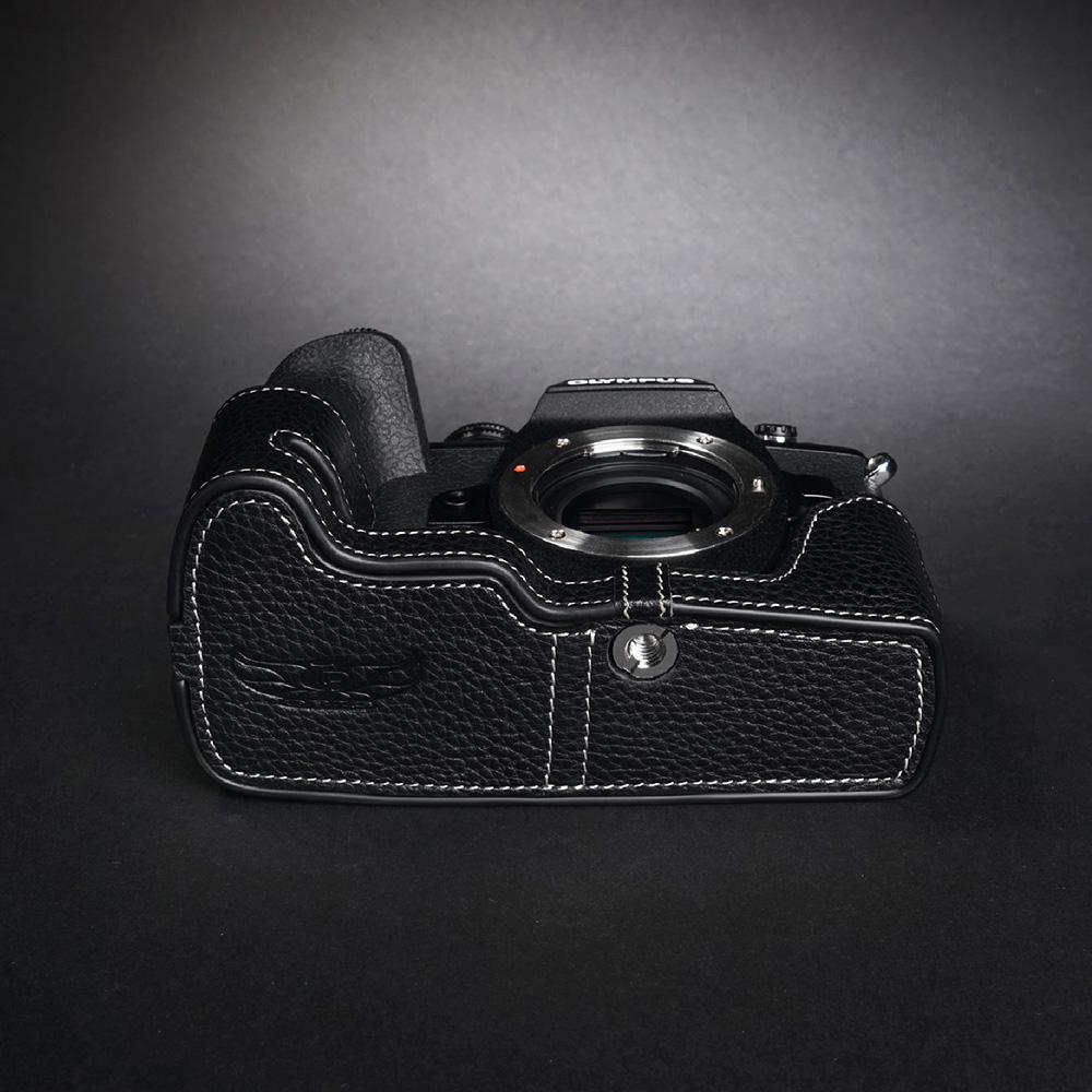 TP Original OLYMPUS E-M1 Mark III 用 ボディーハーフケース ブラック