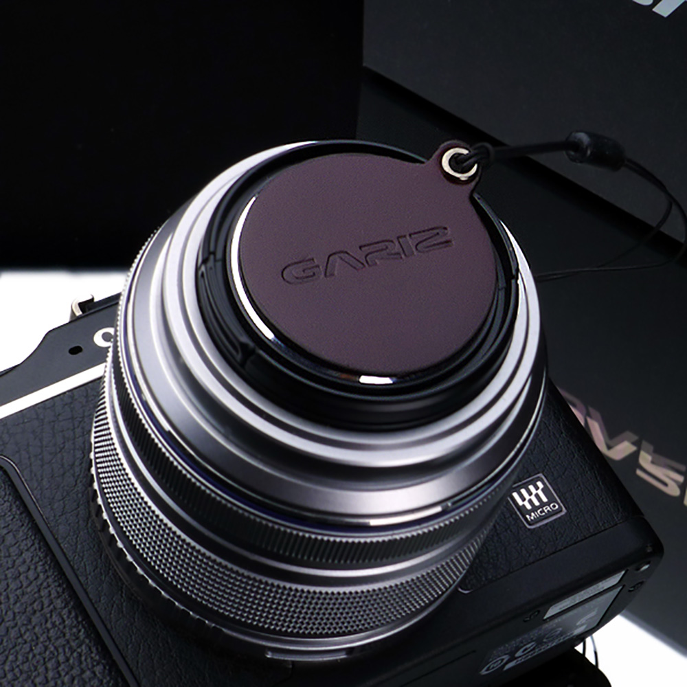GARIZ OLYMPUS 37mm/40.5mm用 レンズキャップフィックス XA-CFOEBR ブラウン