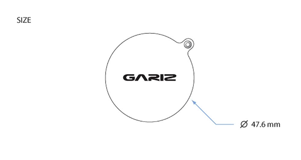 GARIZ FUJIFILM X100S/X100用 レンズキャップフィックス XA-CFX100BK2 ブラック