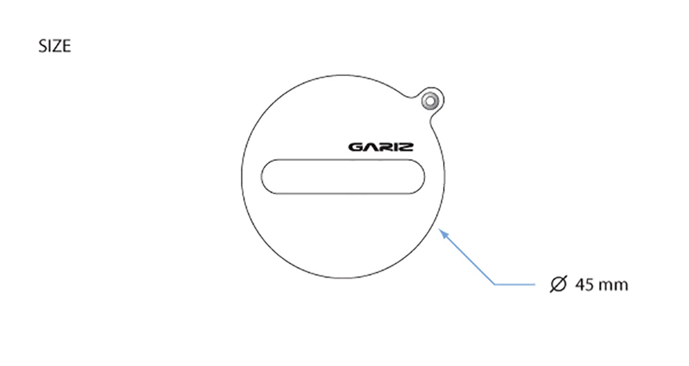 GARIZ FUJIFILM X20/X10用 レンズキャップフィックス XA-CFX10BR ブラウン