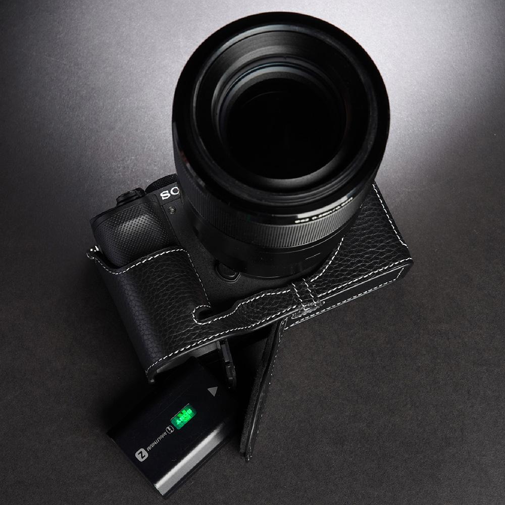 TP Original SONY α7C 用 ボディーハーフケース ブラック