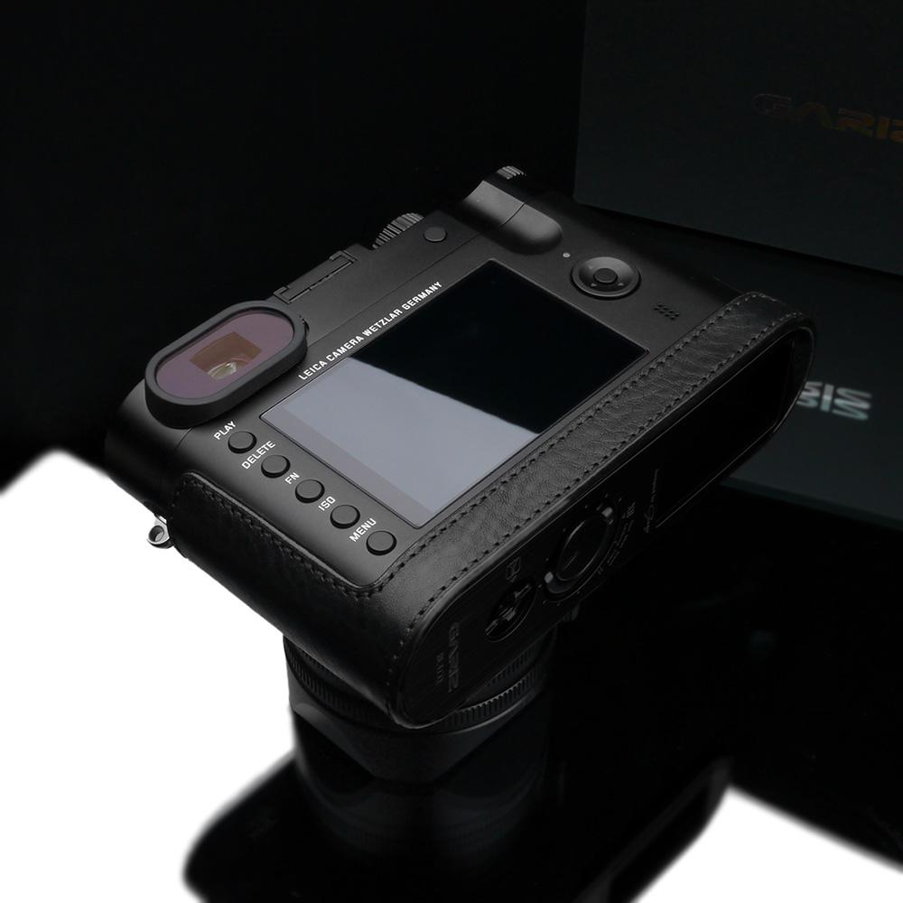 GARIZ Leica Q(Typ116)/Q-P用 本革カメラケース BL-LCQBK ブラック