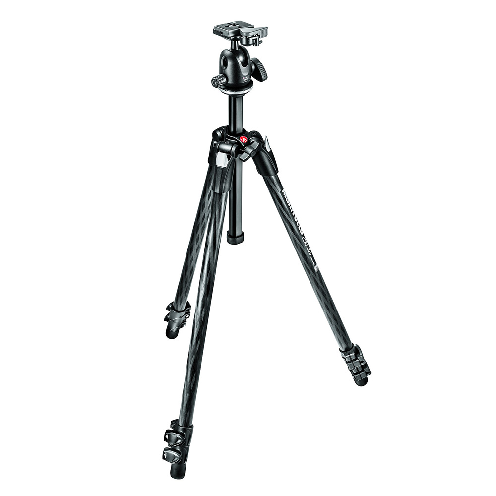 Manfrotto 290XTRAカーボン3段三脚+ボール雲台キット MK290XTC3-BH