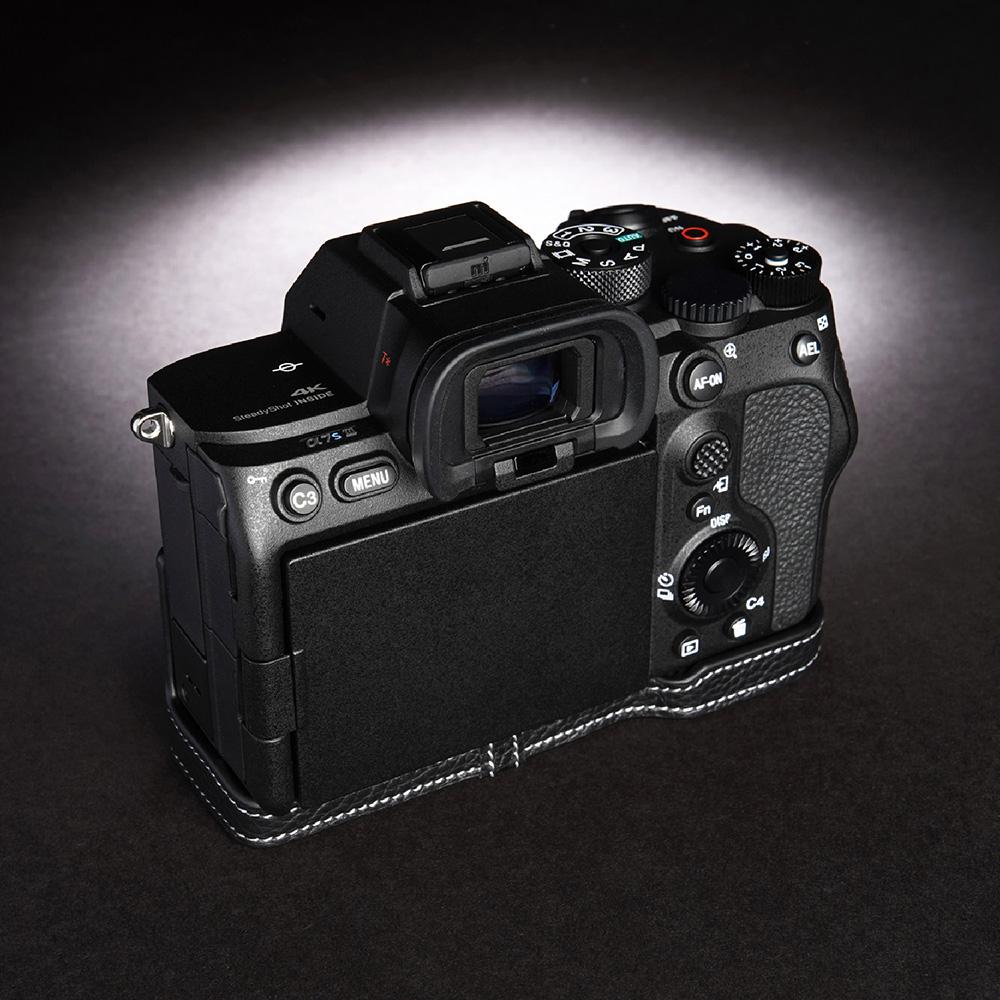 TP Original SONY α7S III 用 ボディーハーフケース ブラック