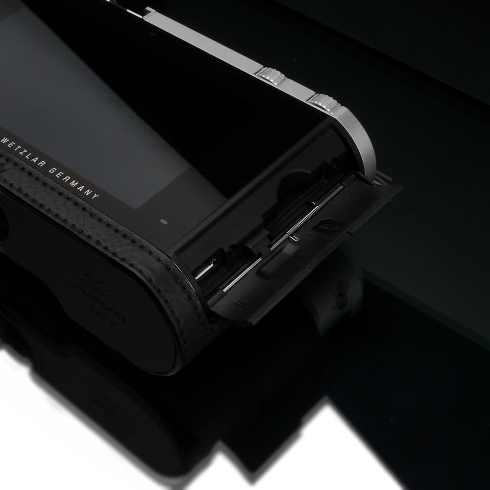 GARIZ Leica T/TL用 本革カメラケース BL-LCTBK ブラック
