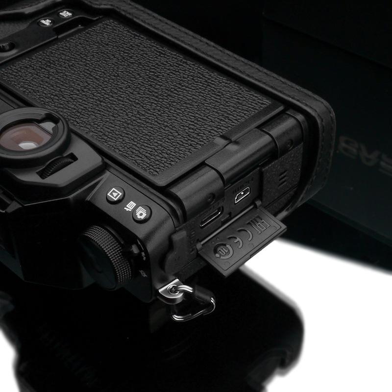 GARIZ FUJIFILM X-S10用 本革カメラケース XS-CHXS10BK ブラック