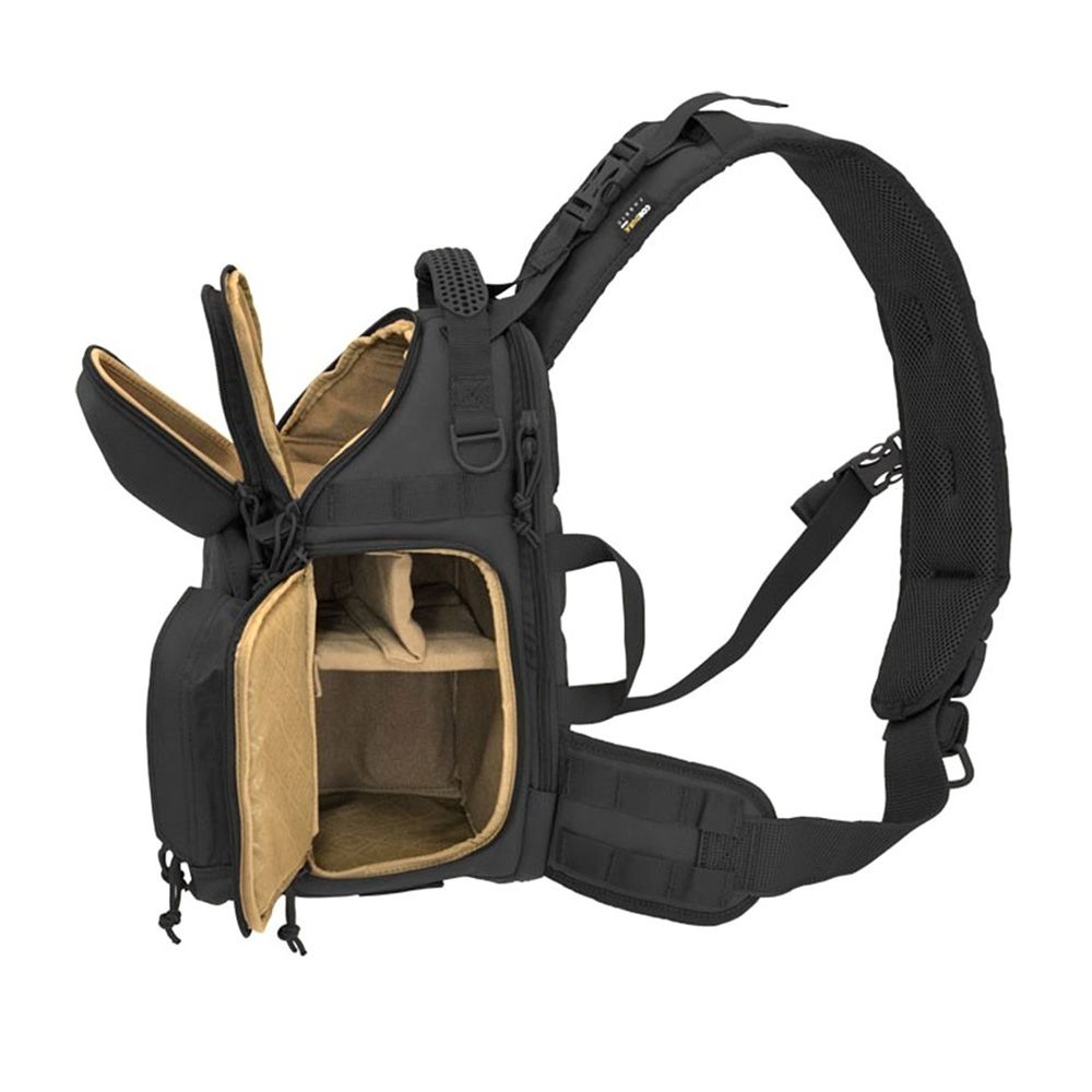 HAZARD4 一眼レフカメラ用 スリングカメラバッグ Freelance - photo and drone tactical sling-pack (Black)