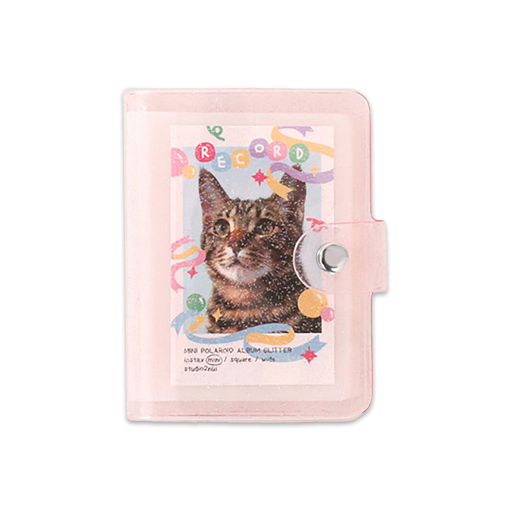 2NUL チェキアルバム INSTAX ALBUM MINI S GLITTER NEW (28枚収納)