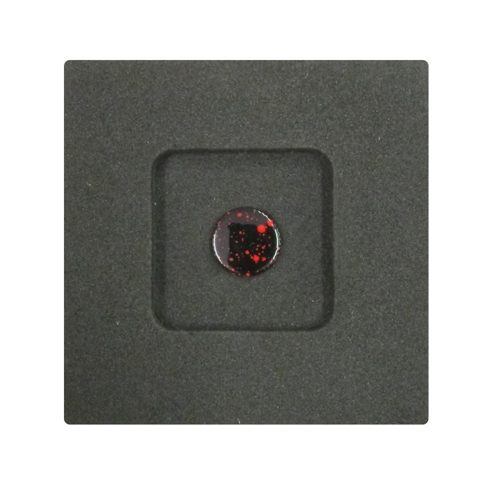 Kカンパニー レリーズボタン 10mm ブラックブラード/レッド [ねじ込みタイプ]