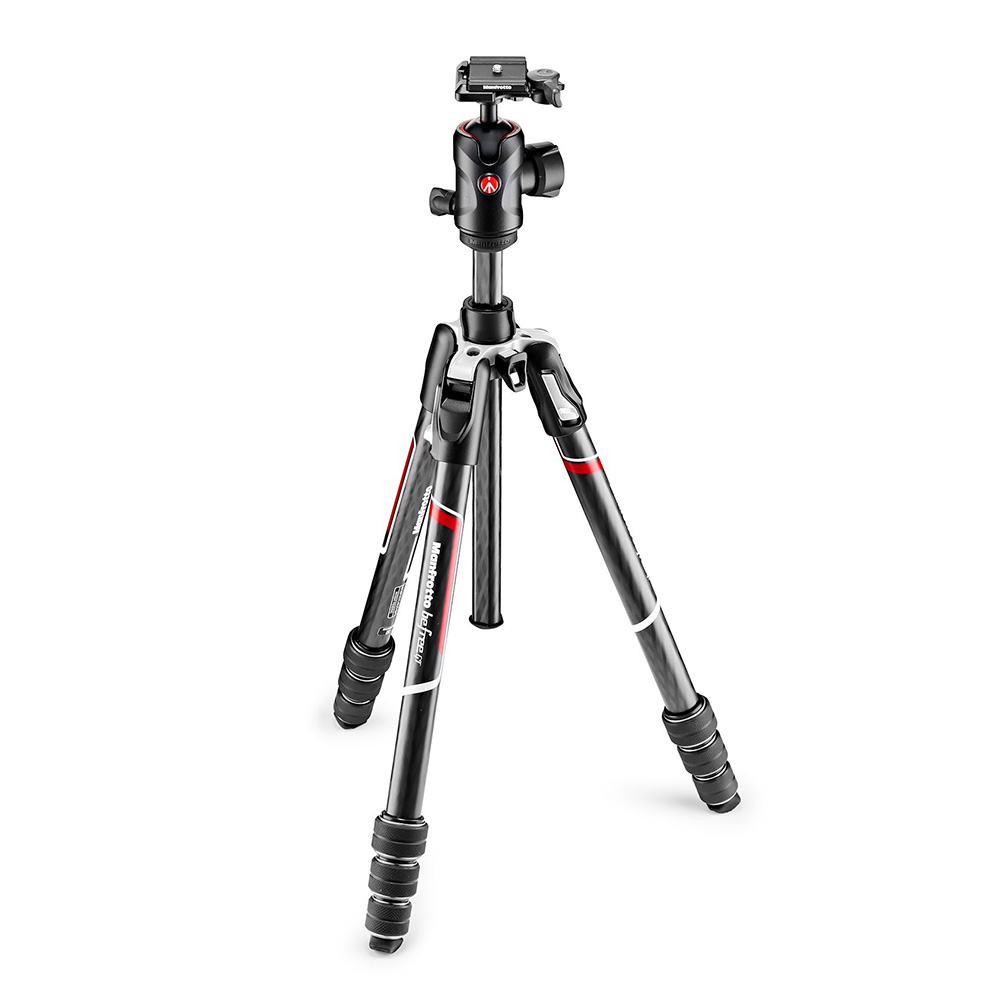 Manfrotto befree GT カーボンT三脚キット MKBFRTC4GT-BH