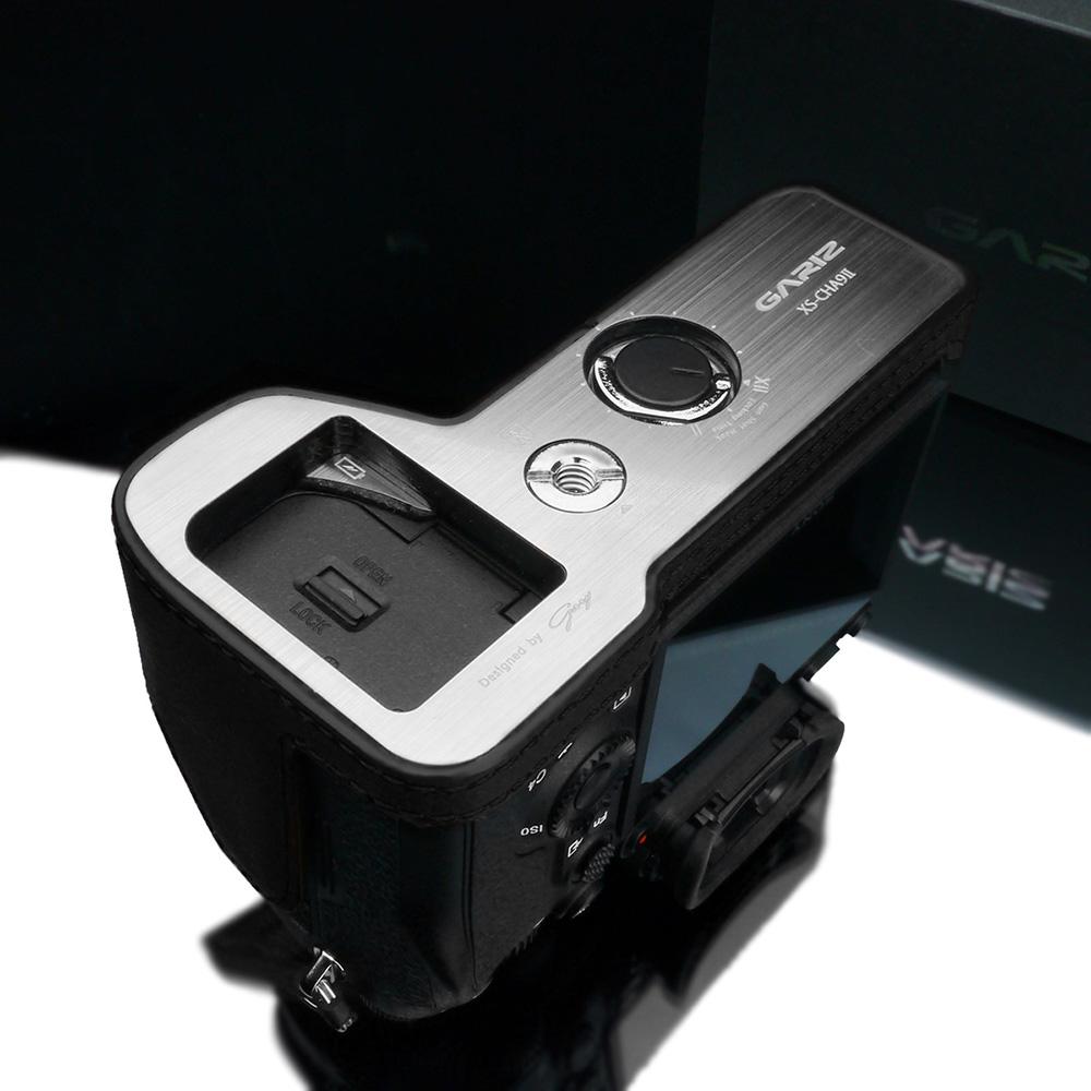 GARIZ SONY α9 II 用 本革カメラケース XS-CHA9IIBK ブラック