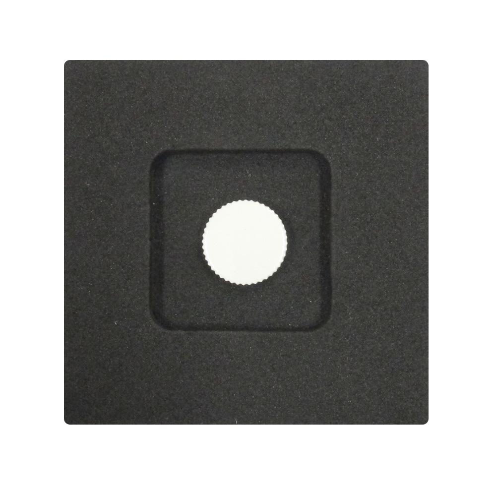 Kカンパニー レリーズボタン 10mm ホワイト [ねじ込みタイプ]