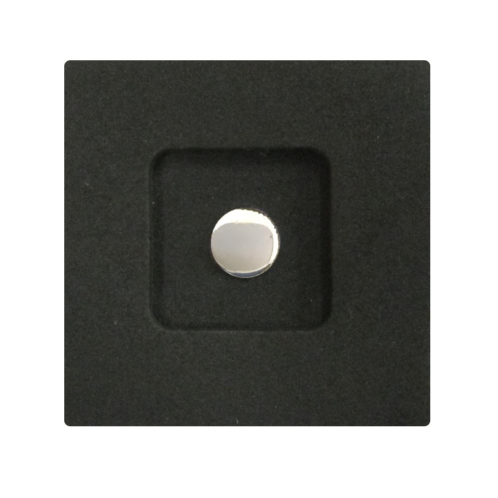 Kカンパニー レリーズボタン 10mm シルバー [ねじ込みタイプ]