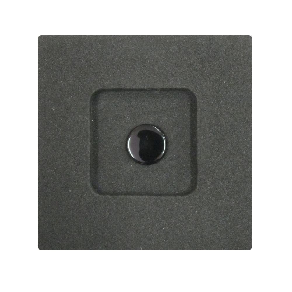 Kカンパニー レリーズボタン 10mm ブラックペイント [ねじ込みタイプ]