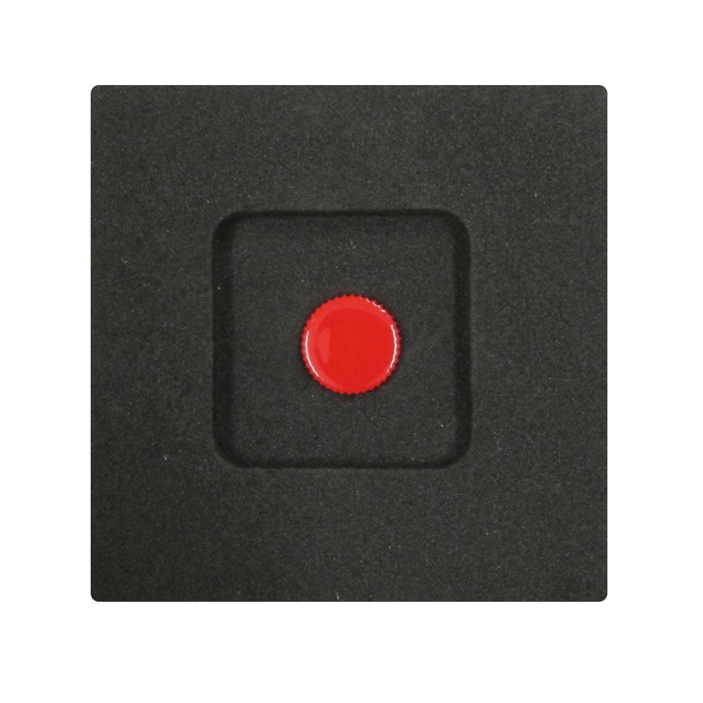 Kカンパニー レリーズボタン 10mm レッド [ねじ込みタイプ]