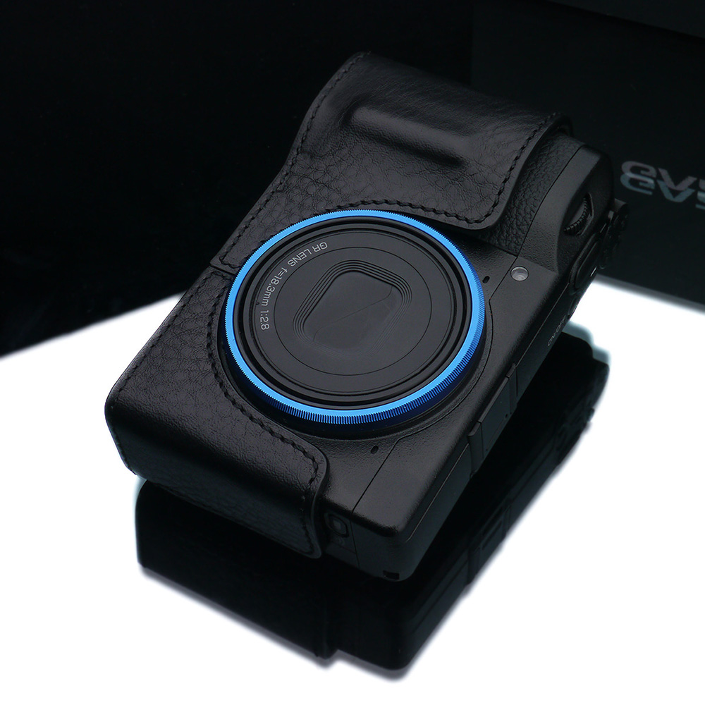 GARIZ RICOH GR III 用 本革カメラケース HG-GRIIIBK ブラック