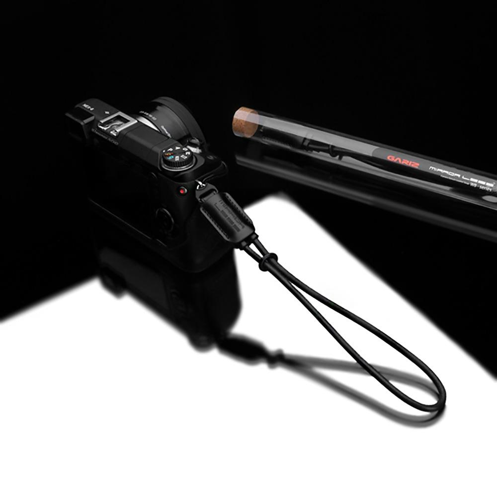 GARIZ 本革カメラリストストラップ XS-WB1 ブラック