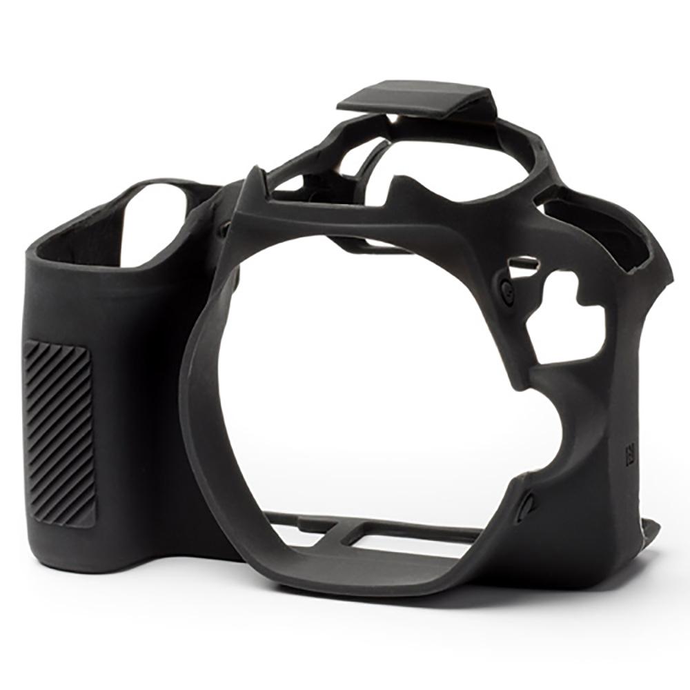イージーカバー EOS Kiss X9 用 ブラック 液晶保護シール付属