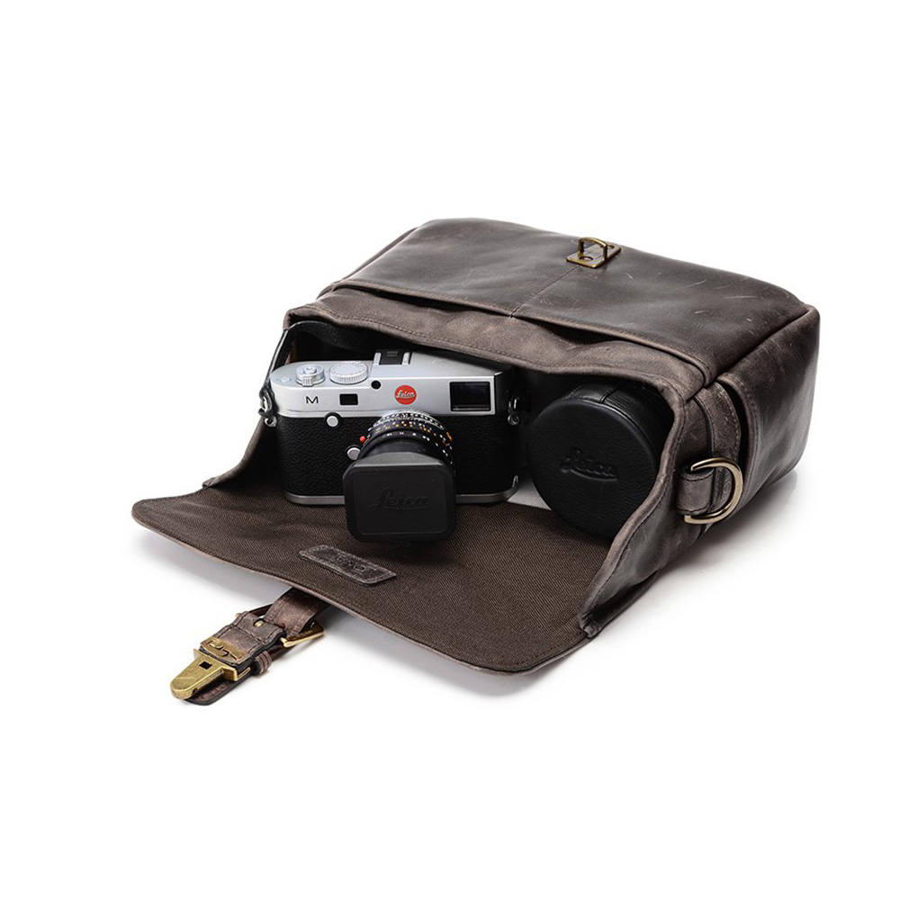 ONA カメラバッグ THE LEATHER BOWERY (Dark Truffle) ONA5-014LDBJP