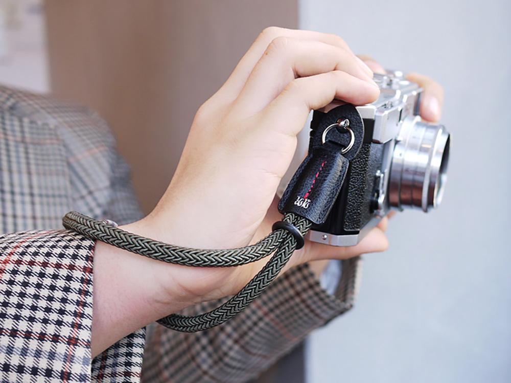 ARNUVO アルヌボ シルキーロープ カメラストラップ Silkyrope WR(丸リングタイプ)