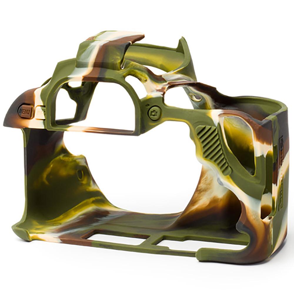 イージーカバー EOS Kiss X9 用 カモフラージュ 液晶保護シール付属