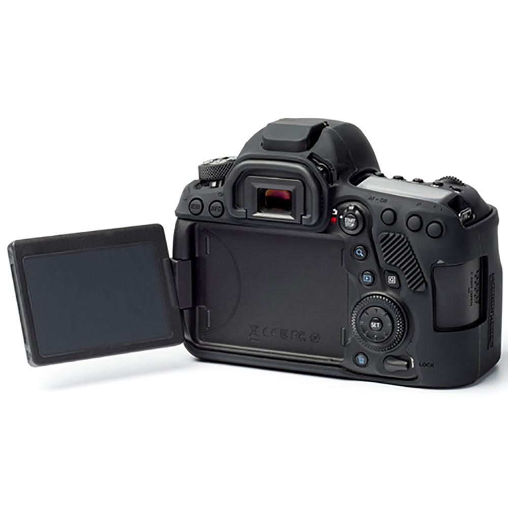 イージーカバー EOS 6D Mark II ブラック 液晶保護シール付属