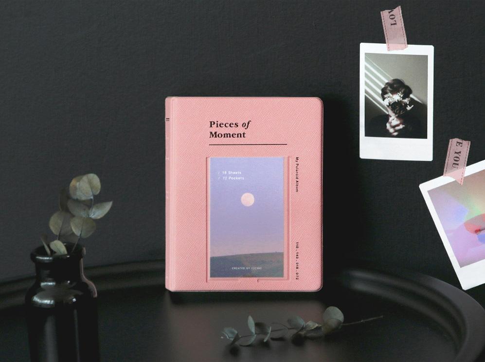 iconic アイコニック チェキアルバム My Polaroid Ver.4 Pieces of Moment [チェキフィルム用アルバム 72枚収納]