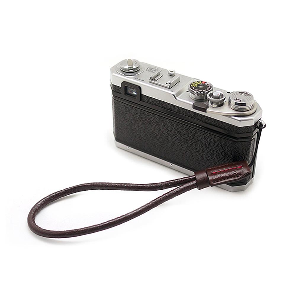 ARNUVO アルヌボ ラフレザー カメラストラップ Rough Leather WS(先細紐タイプ)