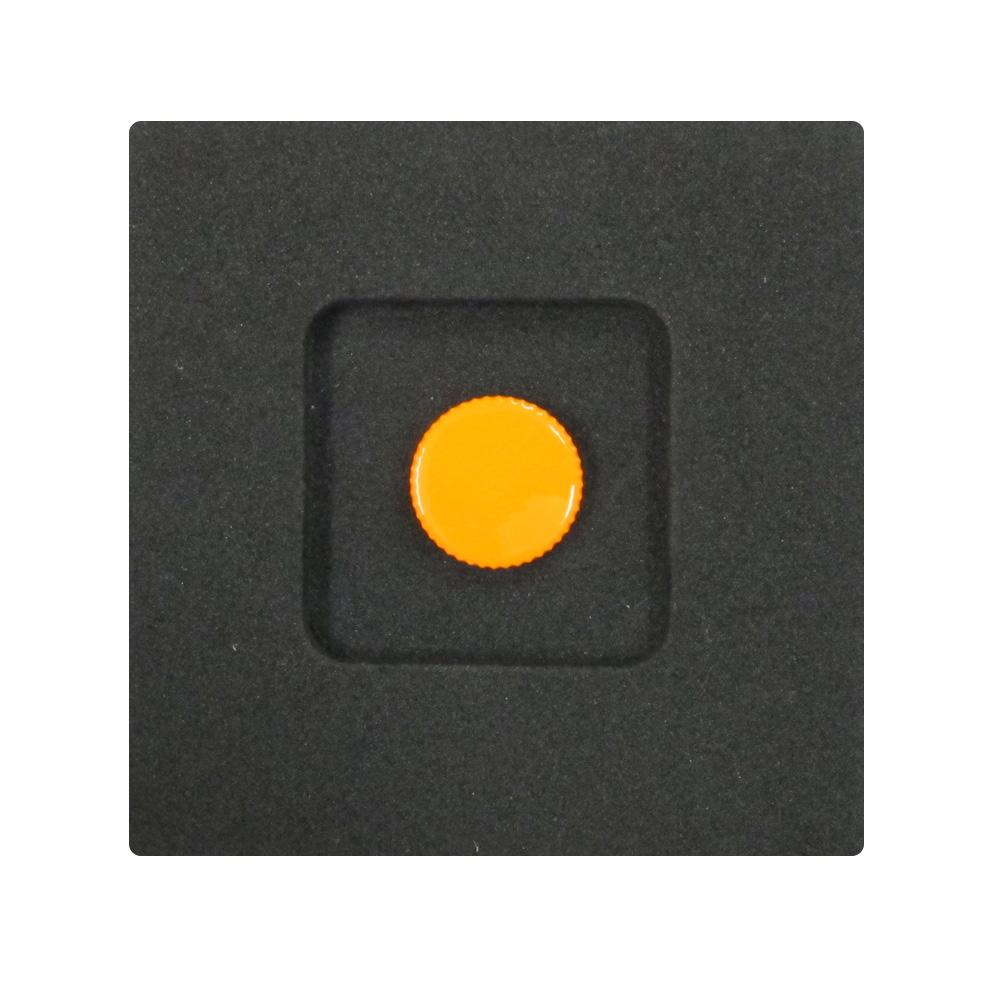 Kカンパニー レリーズボタン 12mm オレンジ [ねじ込みタイプ]