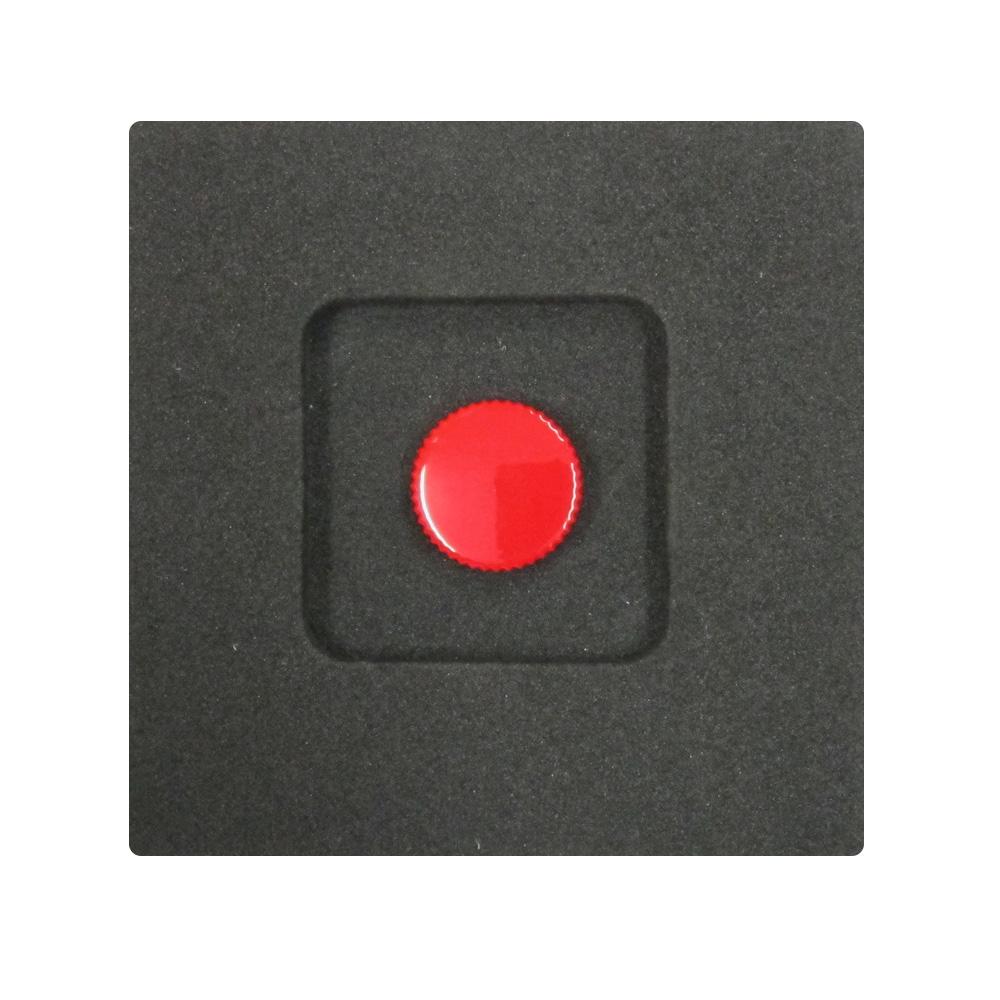 Kカンパニー レリーズボタン 12mm レッド [ねじ込みタイプ]
