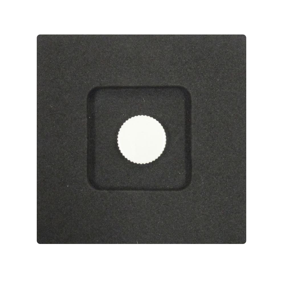 Kカンパニー レリーズボタン 12mm ホワイトイエロー [ねじ込みタイプ]
