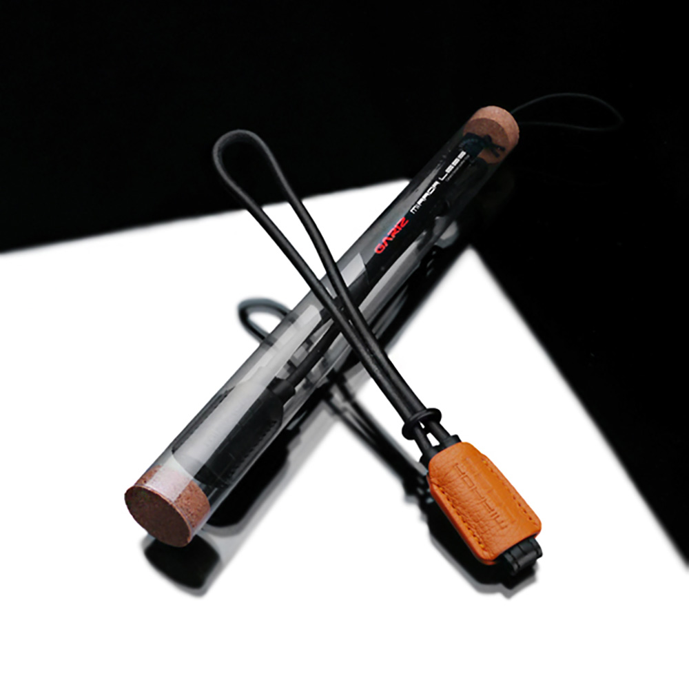 GARIZ 本革カメラリストストラップ XS-WBL1 オレンジ
