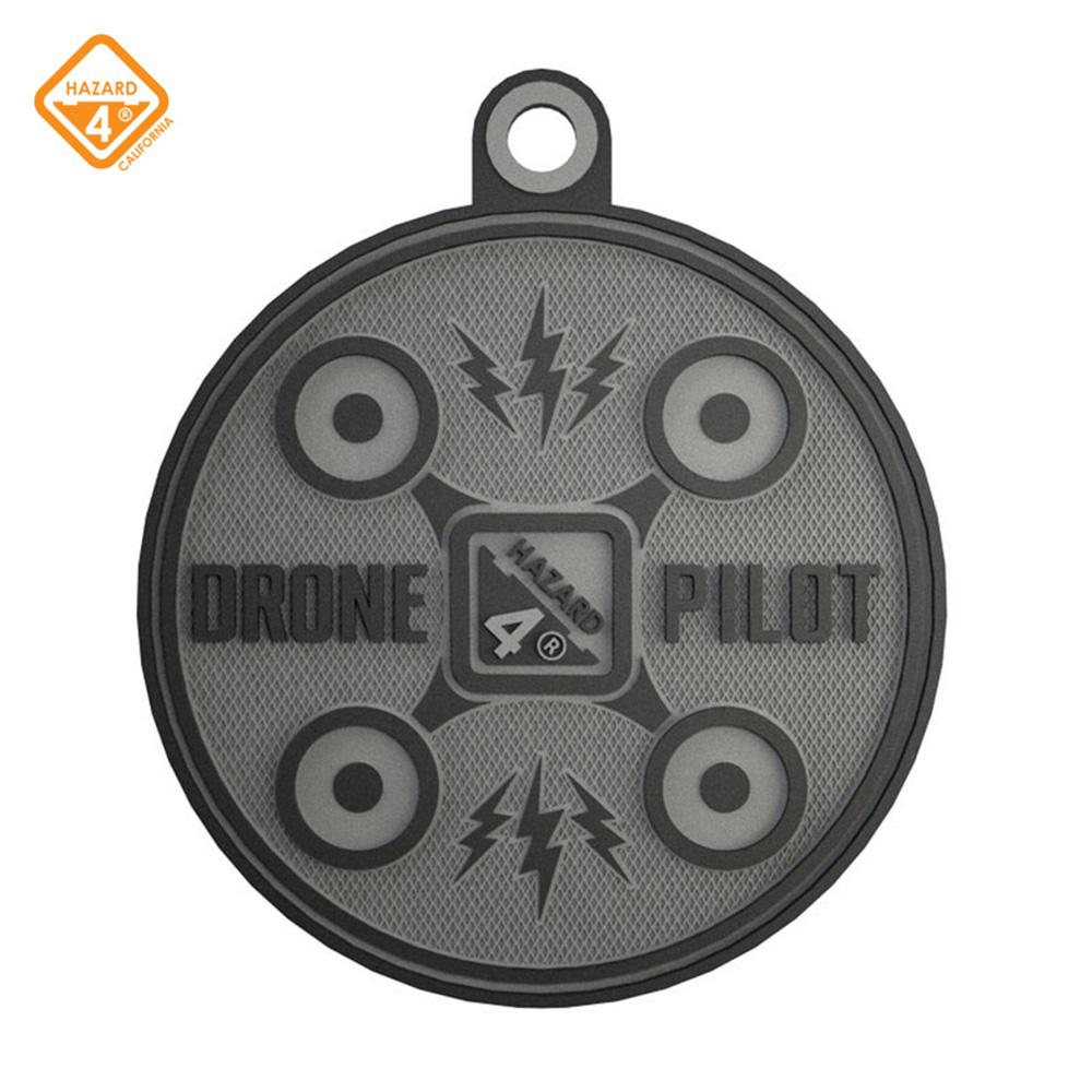 HAZARD4 カメラバッグ用 パッチアクセサリー Drone Pilot - rubber velcro patch