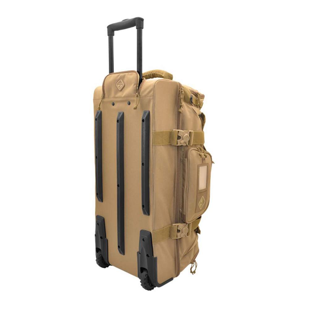 HAZARD4 カーゴバッグ Shoreleave 2020 - compartmentalized rolling luggage Coyote