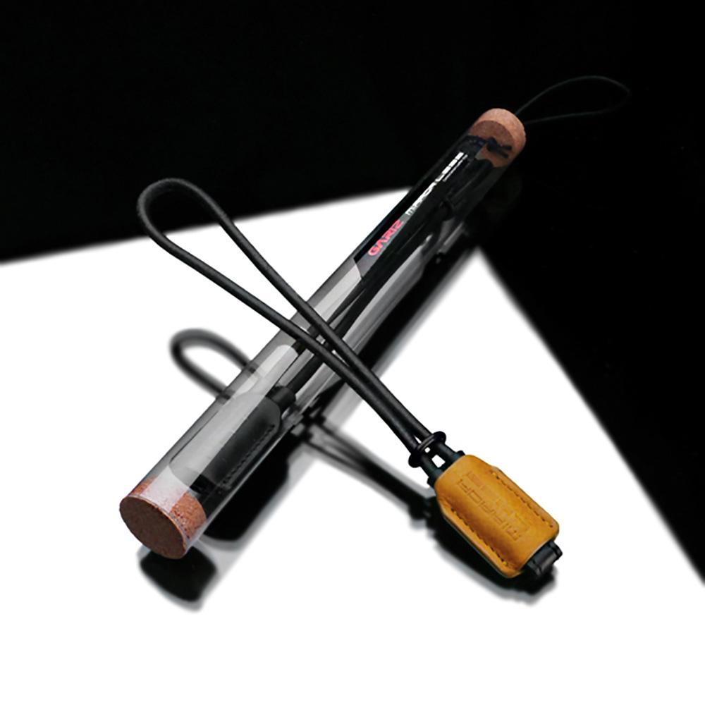 GARIZ 本革カメラリストストラップ用 XS-WBL2 ダークイエロー