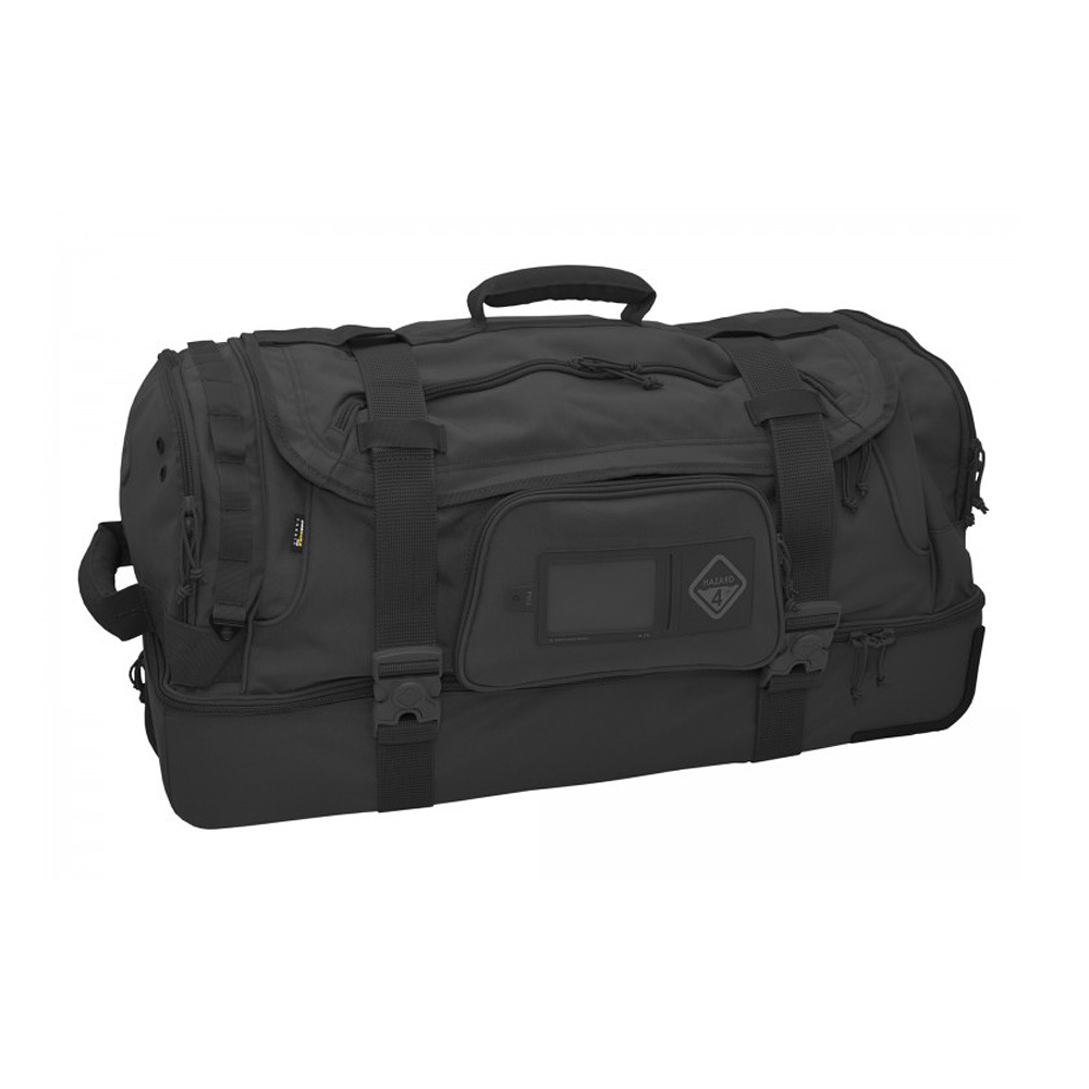 HAZARD4 カーゴバッグ Shoreleave 2020 - compartmentalized rolling luggage Black