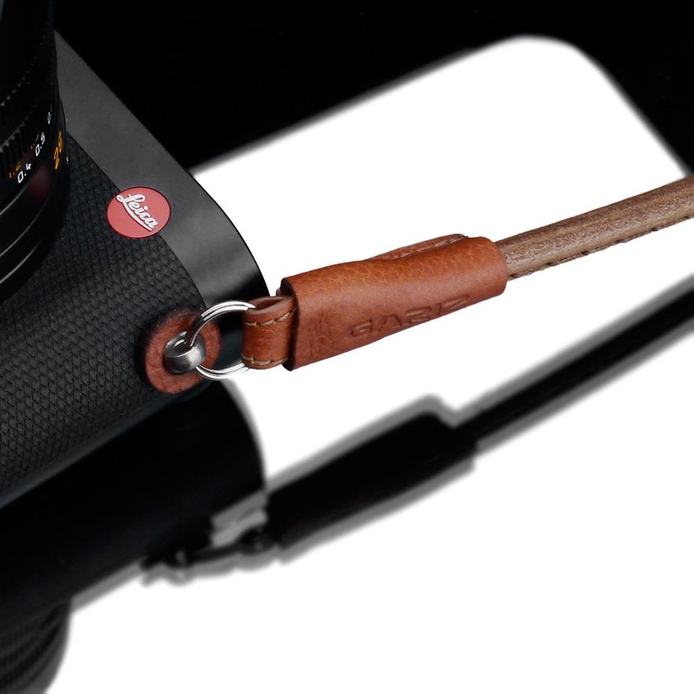GARIZ ミラーレス一眼カメラ用 イタリアンレザー カメラネックストラップ(80cm) XS-CSNSCM キャメル