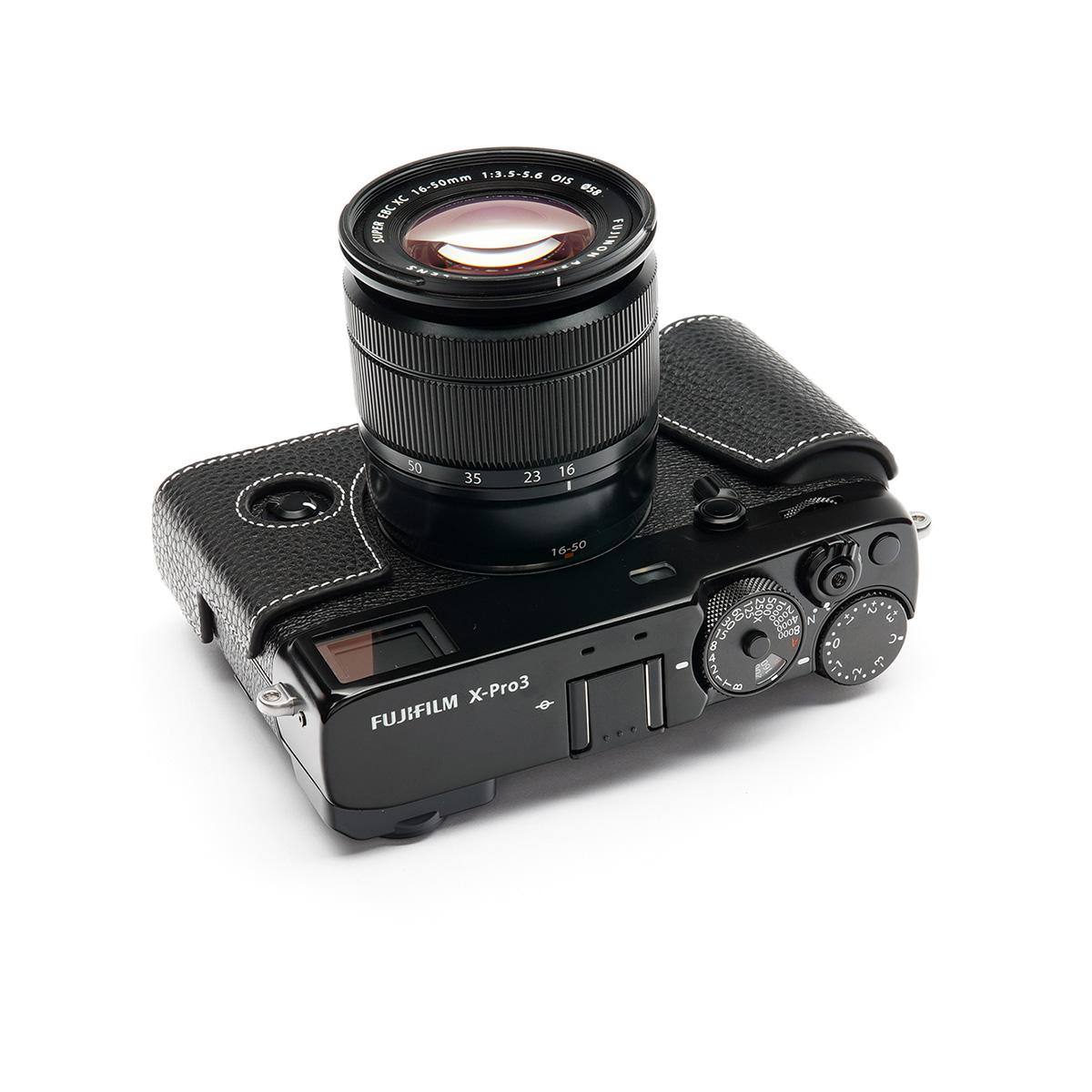 TP Original FUJIFIFILM X-Pro3 用 ボディーハーフケース ブラック