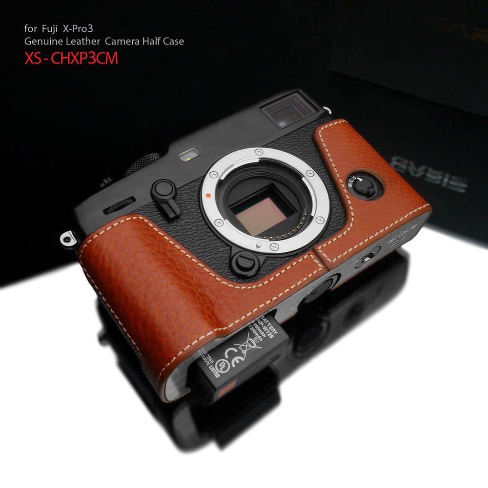 GARIZ FUJIFILM X-Pro3用 本革カメラケース XS-CHXP3CM キャメル